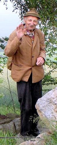 Hans Otto - Ein sehr aktives Vereinsmitglied.
