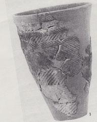 天神山遺跡から出土した円筒式土器