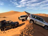 Pilotage dans les dunes de l'Erg CHEBBI - MERZOUGA - Raid MAROC