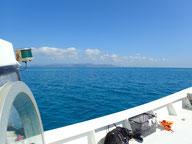 石垣島の海べた凪