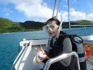 ヒートハートクラブ ダイビングボートHARU」号エントリー