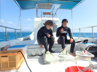石垣島で体験ダイビング講習