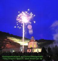 Hochzeitsfeuerwerk Schloss Wackerbarth