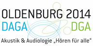 Logo der DAGA 2014 in Oldenburg