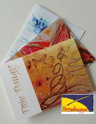 Weihnachtskarten für Firmen und Geschäftskunden - Stiftung Sternschnuppe