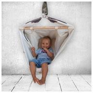 Babywiege als Hängesessel für Kinder