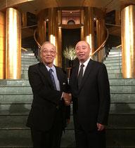 土屋直知委員長と楊耀威副市長