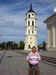 Torre de la Catedral de Vilnius (Lituania)