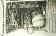 """Opas Werkstatt"", Bleistifte"