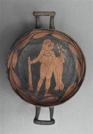coupe italiote à décor d'Hercule