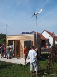 "Small ""Zero Energy House"" built by children in Thuringia, Germany"
