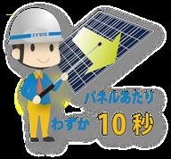 太陽光パネル 点検 ツール スピード ソラメンテ iS