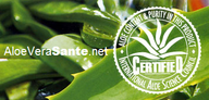 Les gels à boire et tous les soins aloe de LR sont certifiés par le label de qualité I.A.S.C. qui est le Label Biologique International pour l'aloe vera avec double certification I.A.S.C. et Fresenius  LR Health and Beauty