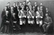 """Jüdische Verbindung """"Jordania"""" zu München. Sommersemester 1912."""