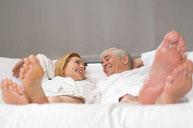 Cuidado del pie de personas mayores