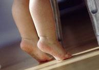 Podologia infantil en Clinica del Pie Rivera de Murcia