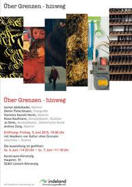 Einladung Kunstraum Körrenzig 2015; u.a. mit Klaus Kaufmann