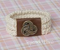 Como tejer collares, pulseras y más para damas en dos agujas o palitos