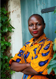 Modedesignerin afrikanische Mode