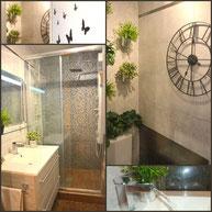 Salle de bain de la Location au Cap d'Agde Narutiste