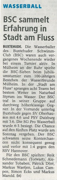 Buxtehude Tageblatt vom 03.07.2012