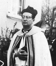 Pastor Becker im Jahre 1964