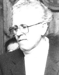 Pastor Schulte wird 1983 verabschiedet aus Bruschied