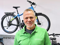 Nils Goy, Filialleiter, e-Bike Verkauf und Ergonomie