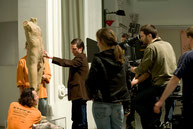 "Shooting ""Taxidermia"""