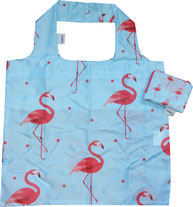 Chilino Bag Tasche Flamingo, hellblau, rosa