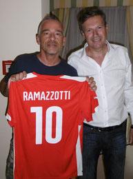 Manfred mit Eros Ramazzotti