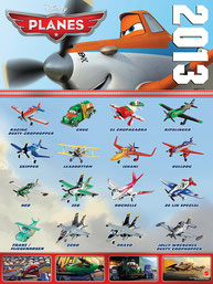 2013 Planes poster