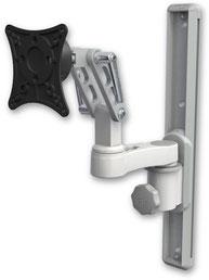 ウォールマウント 壁面固定 ディスプレイ用 ウォールトラック+モニターアーム VESA:ASUL500-T19-AS1