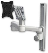 ウォールマウント 壁面固定 ディスプレイ用 ウォールトラック+モニターアーム VESA:ASUL500-T19-A2