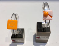 Bracelet métal et verre. Différents modèles disponibles. 23€ pièce