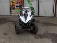 E-ATV Quad 500 Watt Kawa Farbe Weiss