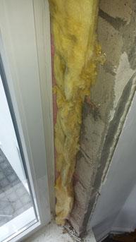 Einbau einer nachträglichen Dampfbremse im Bestandfenster