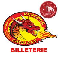 Dragons Catalans partenaires carte loisirs 66