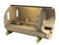 sauna-bois-tonneau-intérieur-dordogne