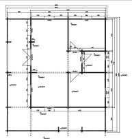plan chalet en bois de loisirs-dordogne-aquitaine-riopas