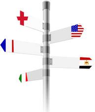 Kasimir und Cäsar in Frankreich, England, Italien, USA und Ägypten