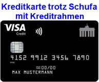 Kreditkarte trotz Schufa