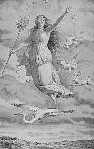 Ostara - die Vogelfrau - Lilith