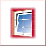 Burgwächter Fenstergitter schützen Ihre Fenster effektiv. Montage & Einbau Ihrer Fenstergitter…  – sichern Sie Ihre Keller- und Erdgeschossfenster! Fenstergitter können auf die Breite des zu schützenden Fensters angepasst werden. Montagebespiel_03
