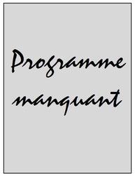 Programme  Sedan-PSG  2001-02
