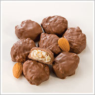 Milk Chocolate Almond Coconut Treasures
