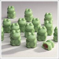 Green Fudgie Frogs
