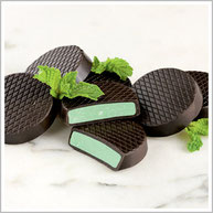 Dark Chocolate Mint Patties