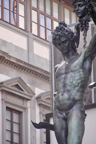 Perseo, Medusa, Cellini, Loggia Lanzi, Firenze, Toscana, Tuscany, Uffizi Gallery