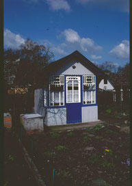 Die Laube stand in der Kleingartenanlage Lerchenstraße
